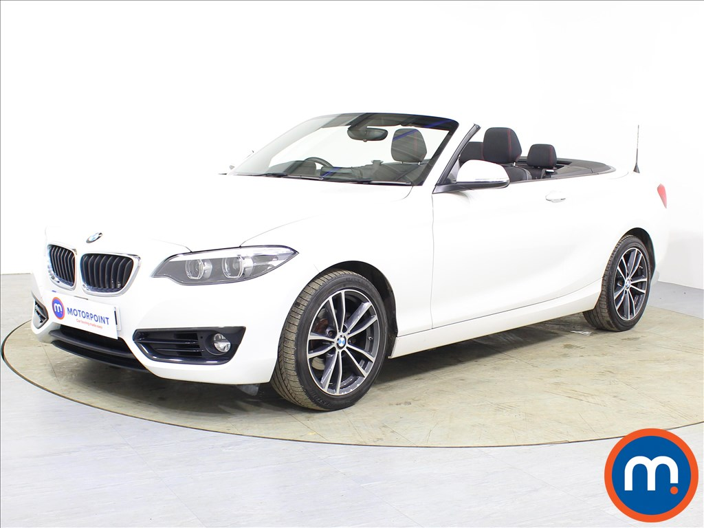 BMW 2 Series Sport - Stock Number 1081945 Passenger side front corner