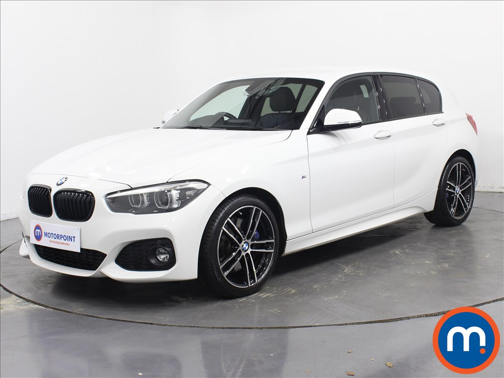 BMW 1 Series M Sport Shadow Edition - Stock Number 1081292 Passenger side front corner