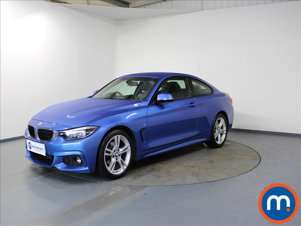 BMW 4 Series M Sport - Stock Number 1081076 Passenger side front corner
