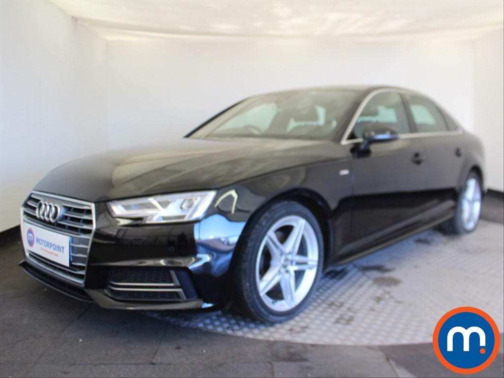 Audi A4 S Line - Stock Number 1080683 Passenger side front corner