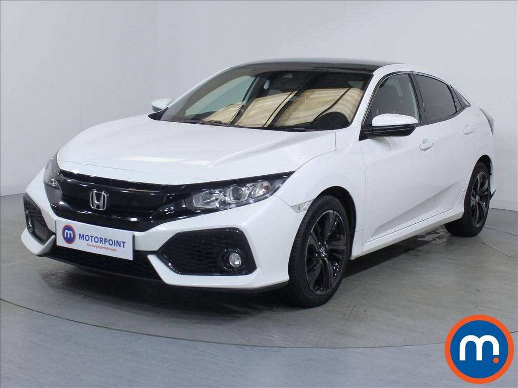 Honda Civic EX - Stock Number 1081774 Passenger side front corner