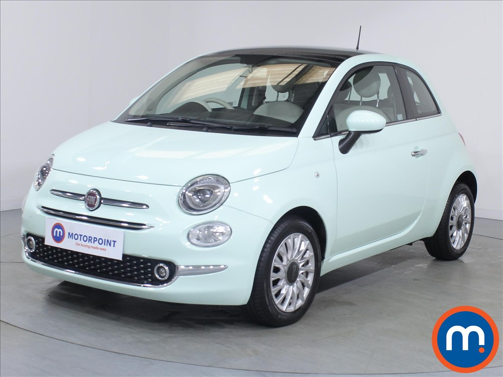 Fiat 500 Lounge - Stock Number 1082928 Passenger side front corner