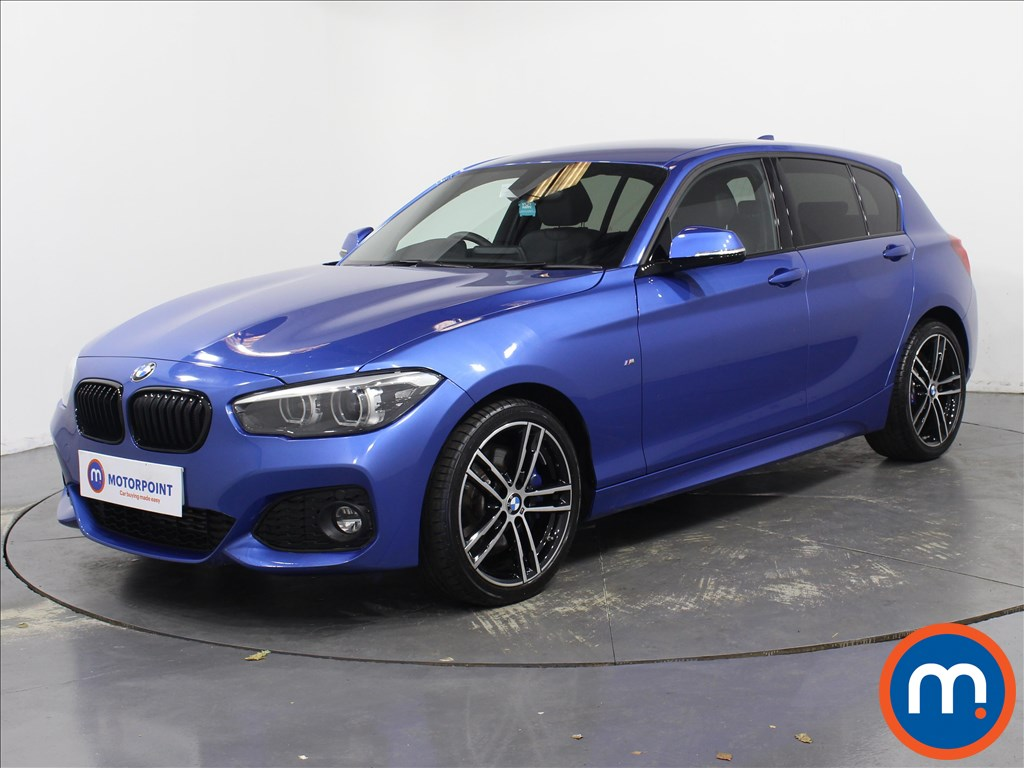 BMW 1 Series M Sport Shadow Edition - Stock Number 1081362 Passenger side front corner
