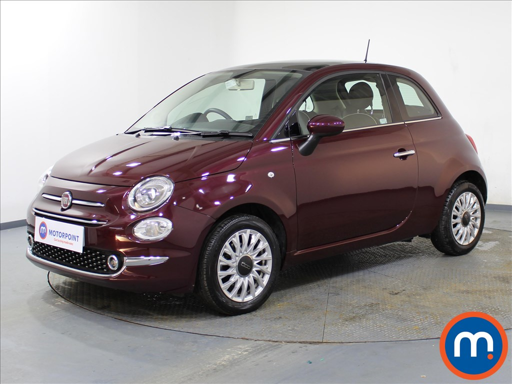 Fiat 500 Lounge - Stock Number 1082914 Passenger side front corner