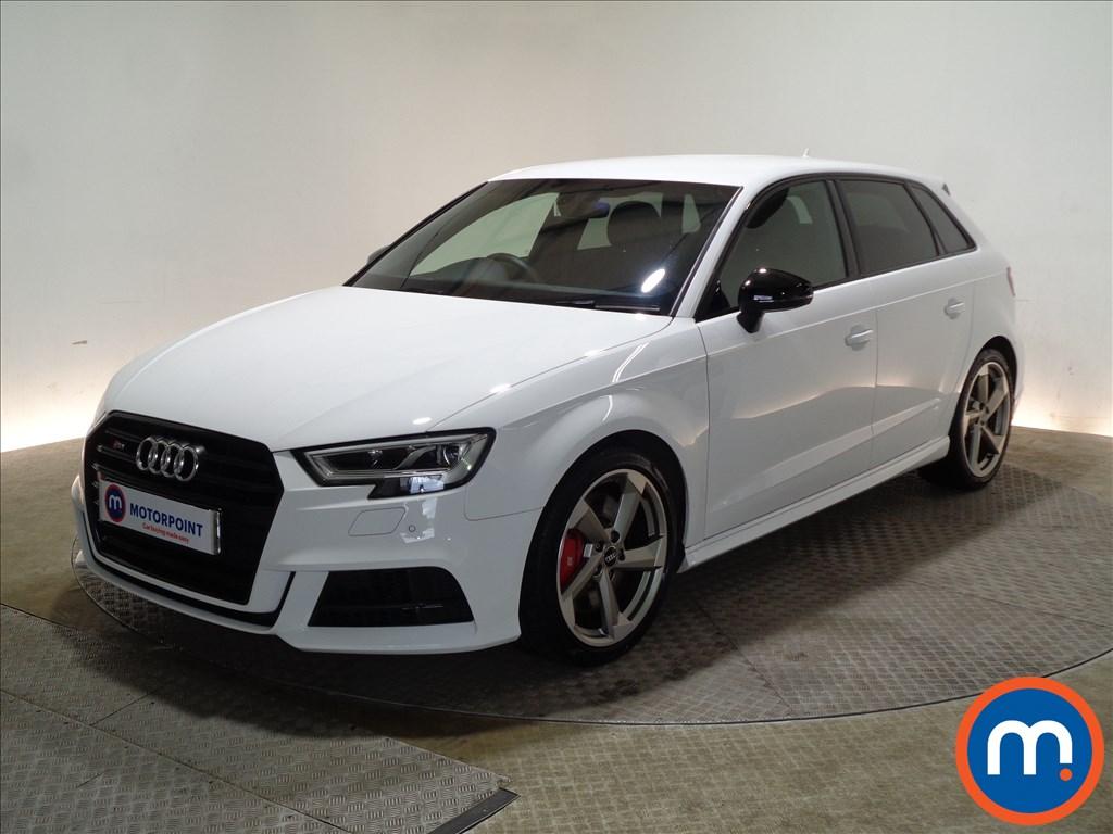 Audi A3 S3 Black Edition - Stock Number 1079250 Passenger side front corner
