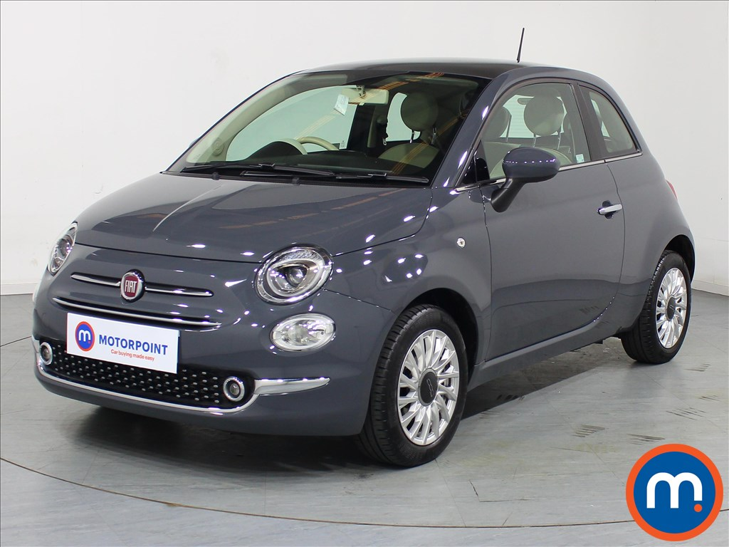 Fiat 500 Lounge - Stock Number 1079273 Passenger side front corner