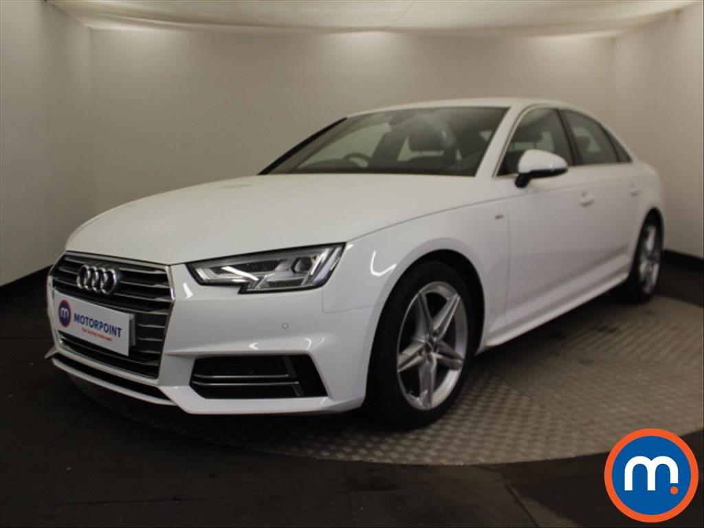 Audi A4 S Line - Stock Number 1080695 Passenger side front corner