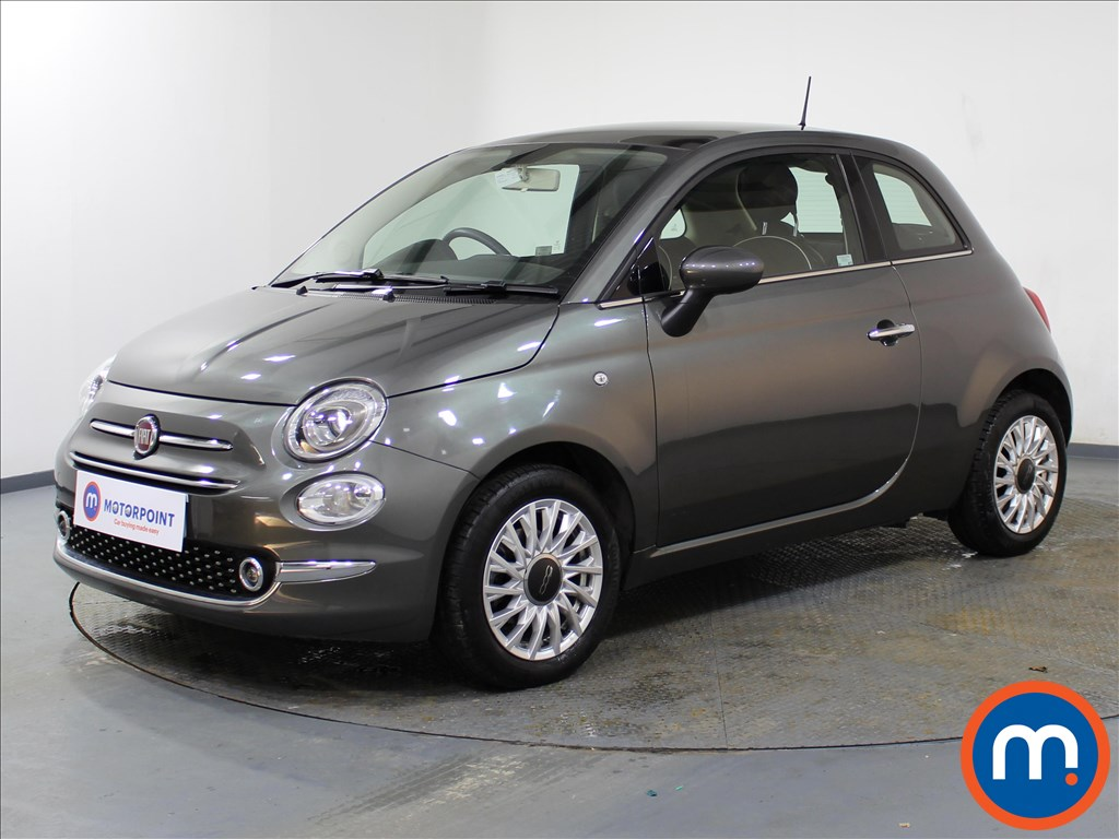 Fiat 500 Lounge - Stock Number 1082889 Passenger side front corner