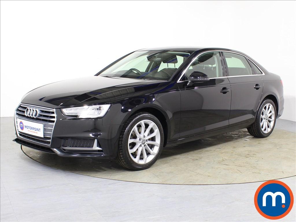 Audi A4 Sport - Stock Number 1082682 Passenger side front corner