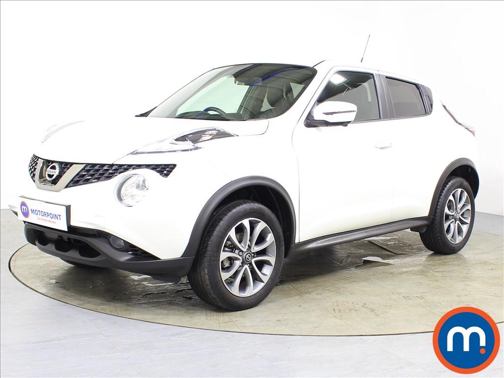 Nissan Juke Tekna - Stock Number 1083973 Passenger side front corner