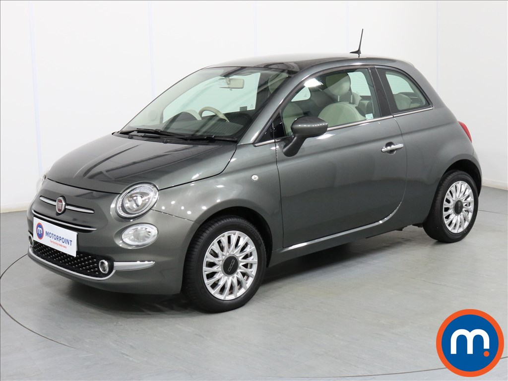Fiat 500 Lounge - Stock Number 1082906 Passenger side front corner