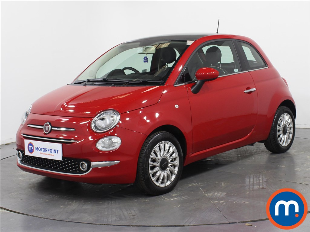 Fiat 500 Lounge - Stock Number 1082578 Passenger side front corner