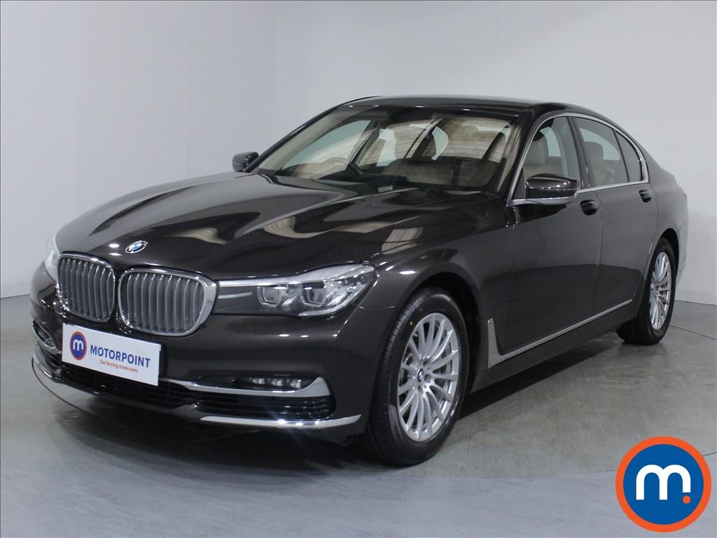 BMW 7 Series Exclusive - Stock Number 1081336 Passenger side front corner
