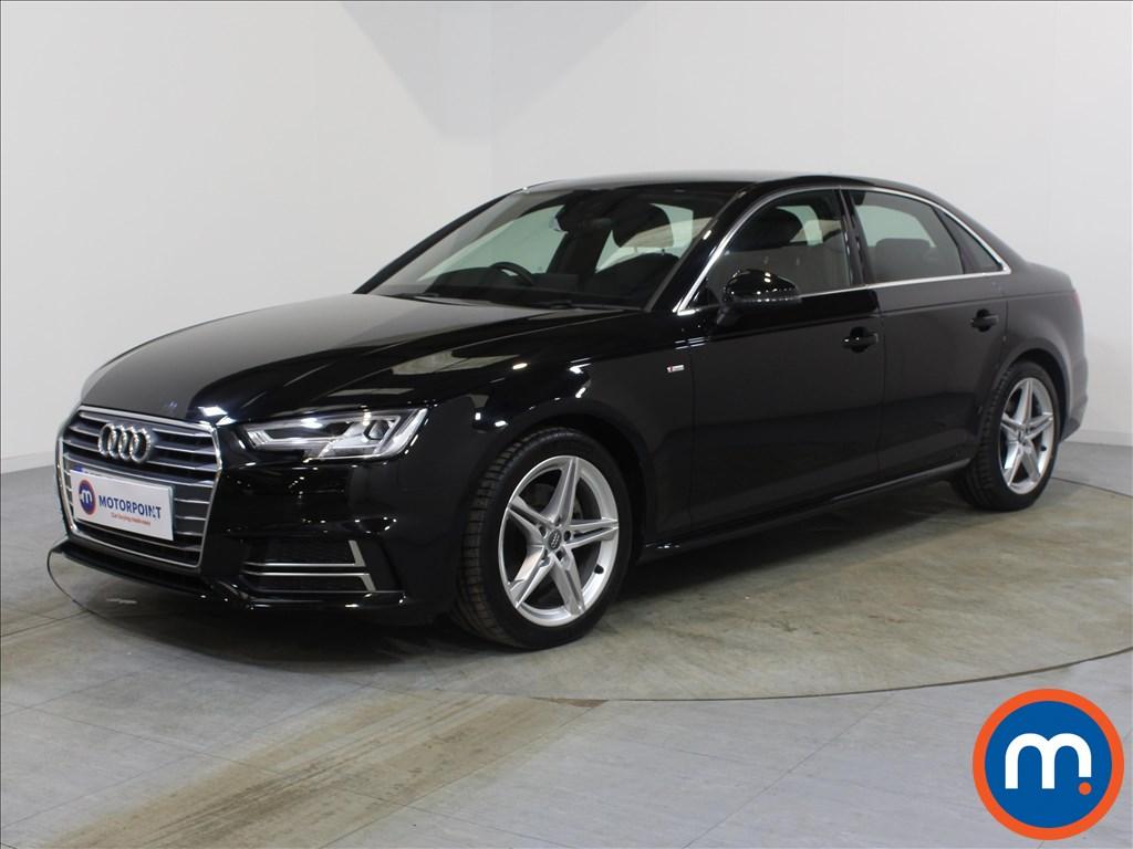 Audi A4 S Line - Stock Number 1080687 Passenger side front corner
