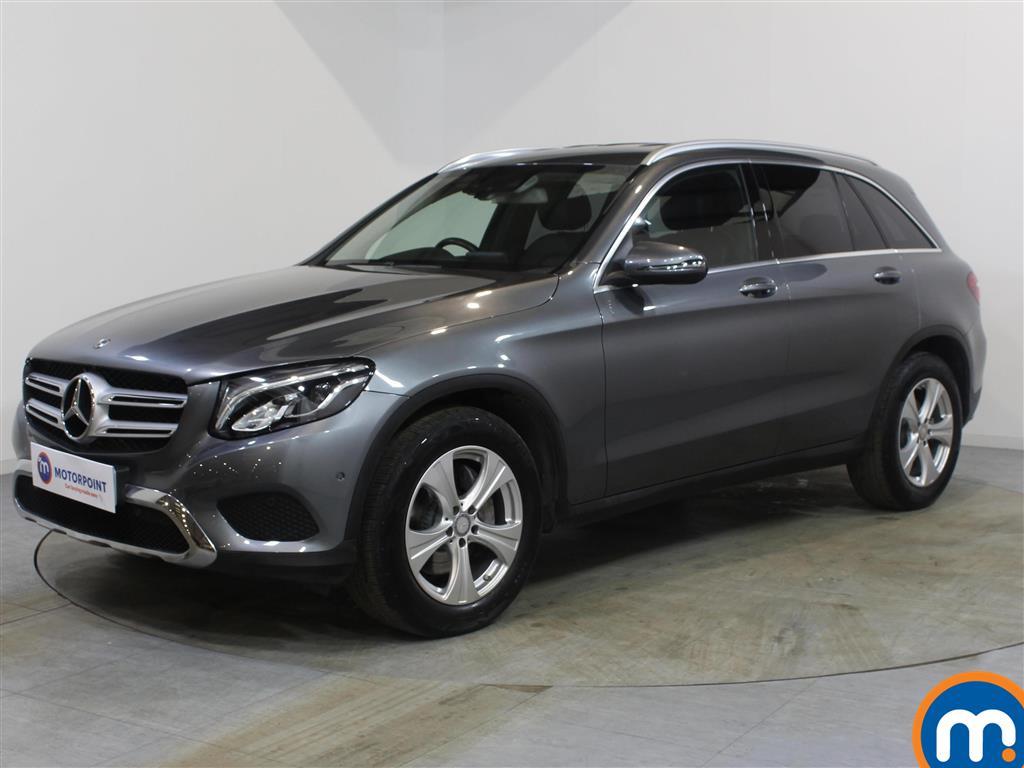 Mercedes-Benz GLC Sport - Stock Number 1083753 Passenger side front corner