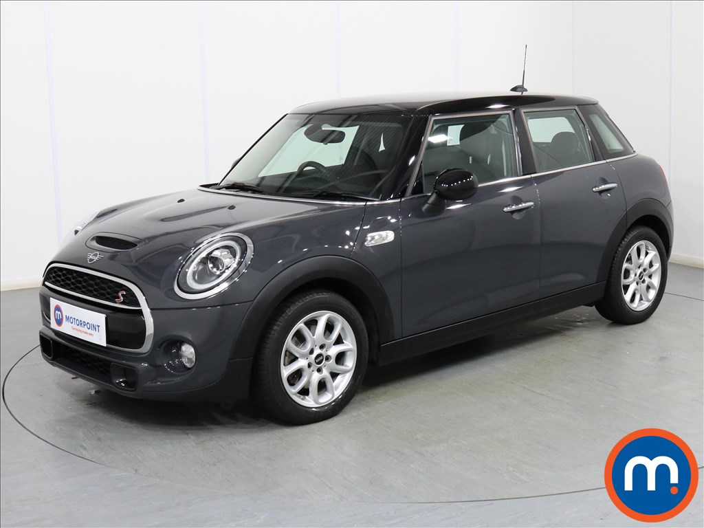 Mini Hatchback Cooper S - Stock Number 1083086 Passenger side front corner