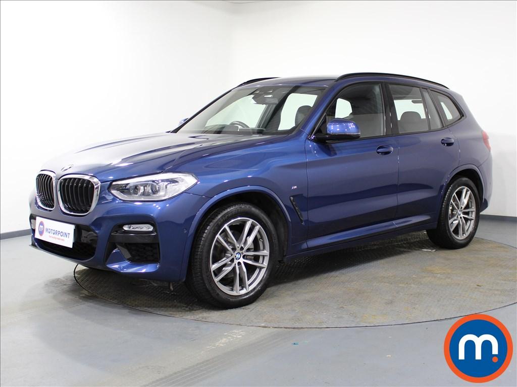 BMW X3 M Sport - Stock Number 1082309 Passenger side front corner