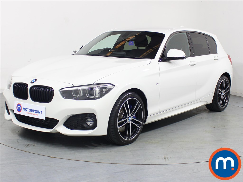 BMW 1 Series M Sport Shadow Edition - Stock Number 1081288 Passenger side front corner