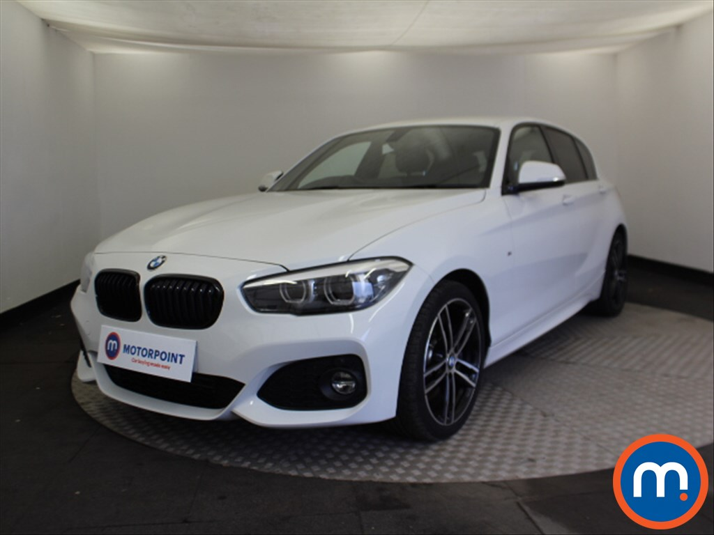 BMW 1 Series M Sport Shadow Edition - Stock Number 1081409 Passenger side front corner