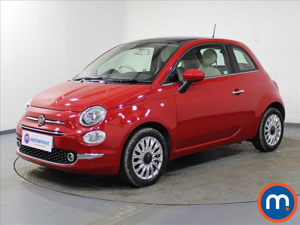 Fiat 500 Lounge - Stock Number 1082978 Passenger side front corner