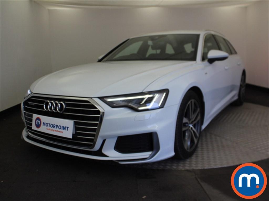 Audi A6 S Line - Stock Number 1081847 Passenger side front corner