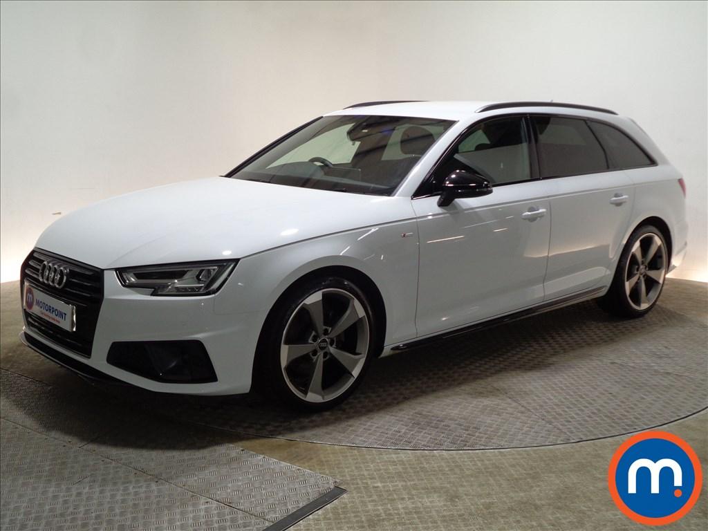 Audi A4 Black Edition - Stock Number 1078181 Passenger side front corner