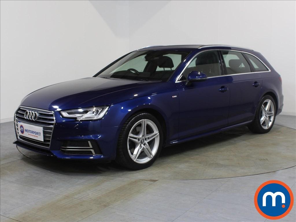 Audi A4 S Line - Stock Number 1080674 Passenger side front corner