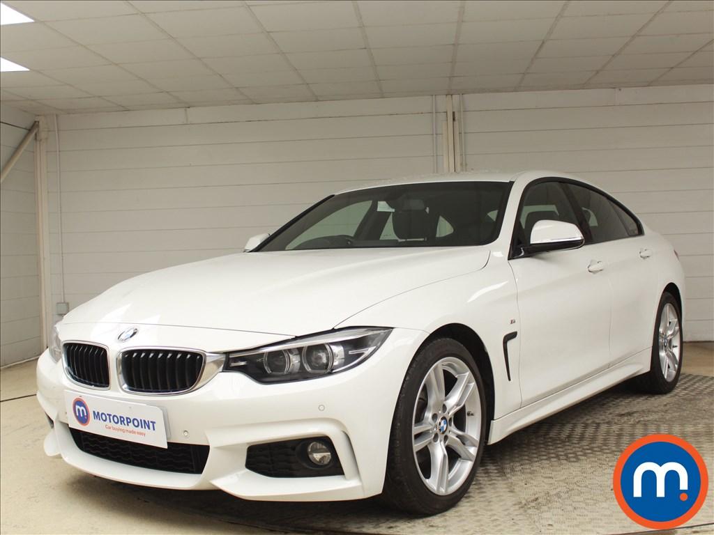 BMW 4 Series M Sport - Stock Number 1083560 Passenger side front corner