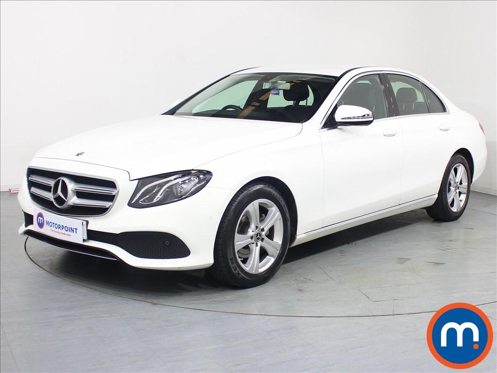 Mercedes-Benz E Class SE - Stock Number 1075517 Passenger side front corner
