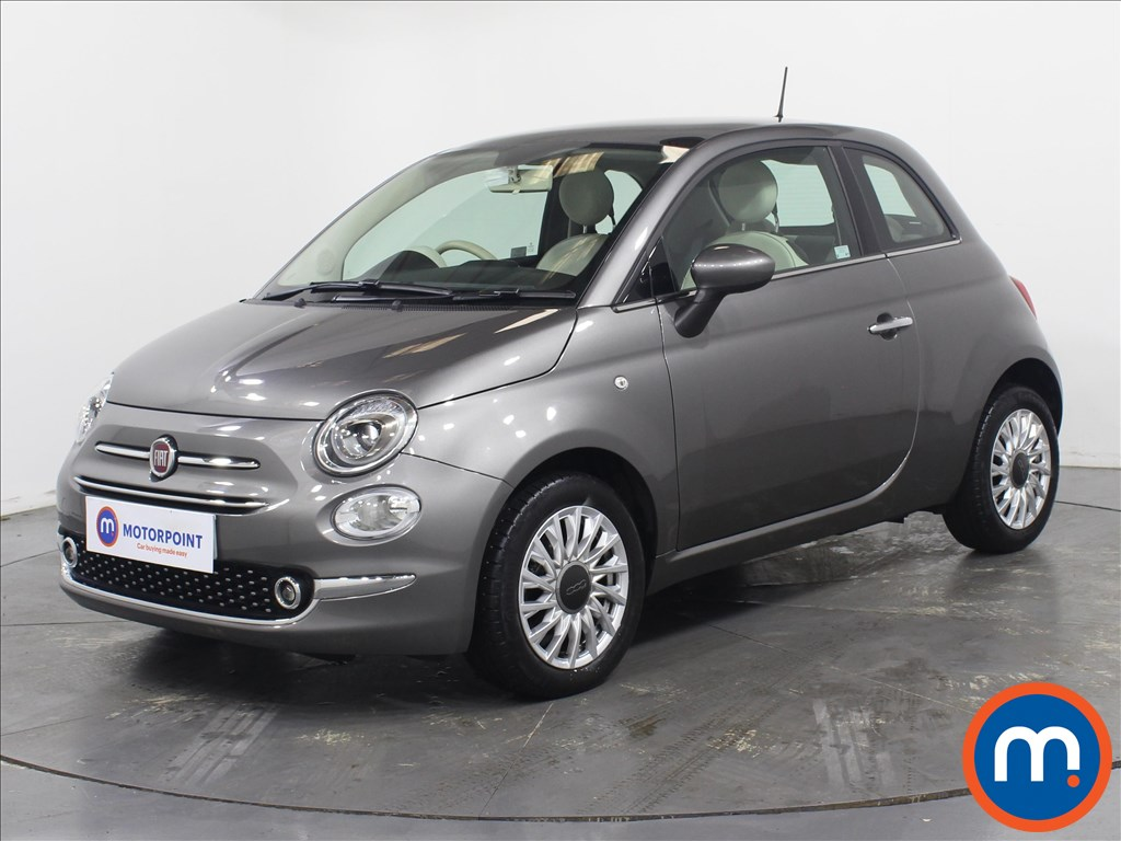Fiat 500 Lounge - Stock Number 1082944 Passenger side front corner