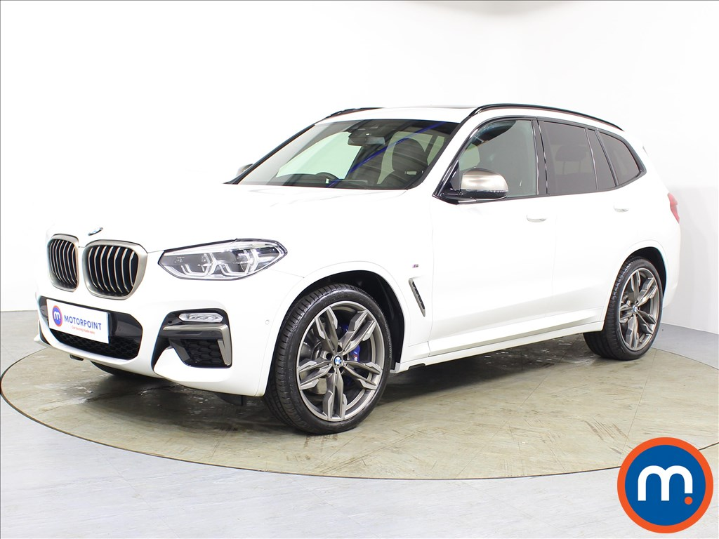 BMW X3 M40i - Stock Number 1079309 Passenger side front corner
