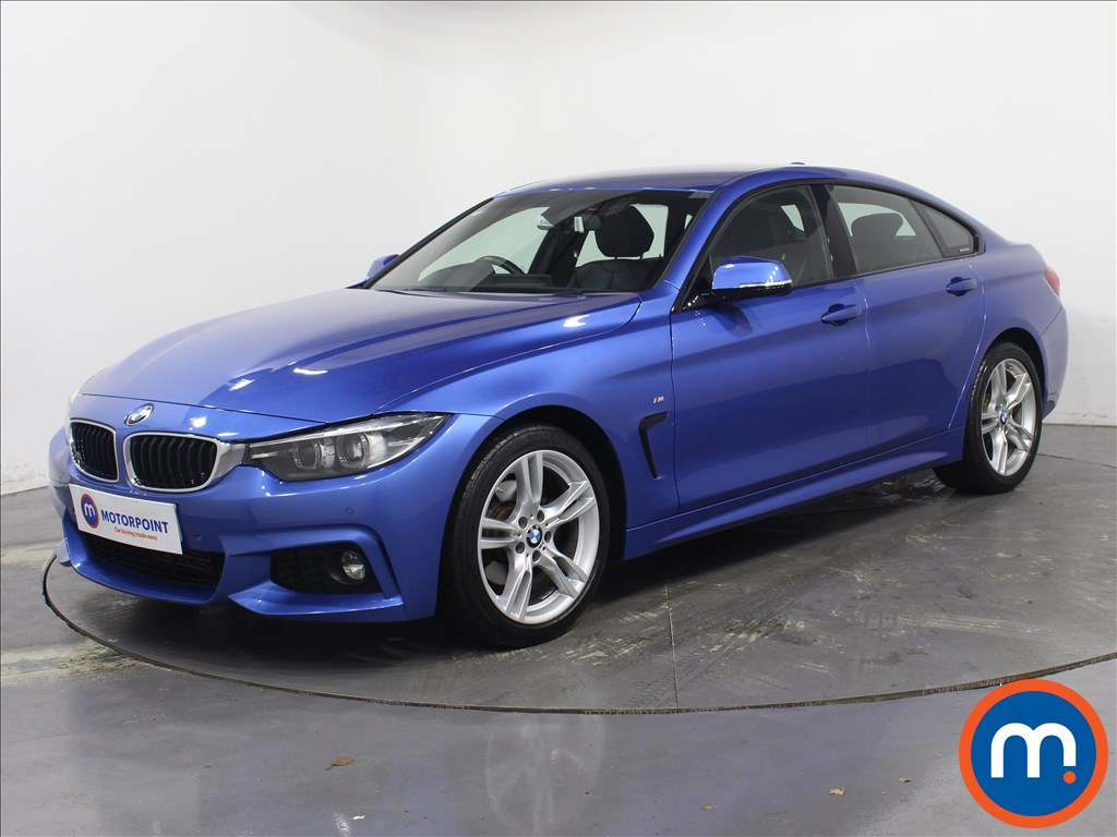 BMW 4 Series M Sport - Stock Number 1081325 Passenger side front corner