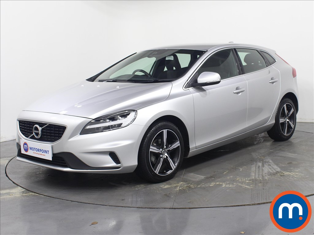Volvo V40 R Design Nav Plus - Stock Number 1081886 Passenger side front corner