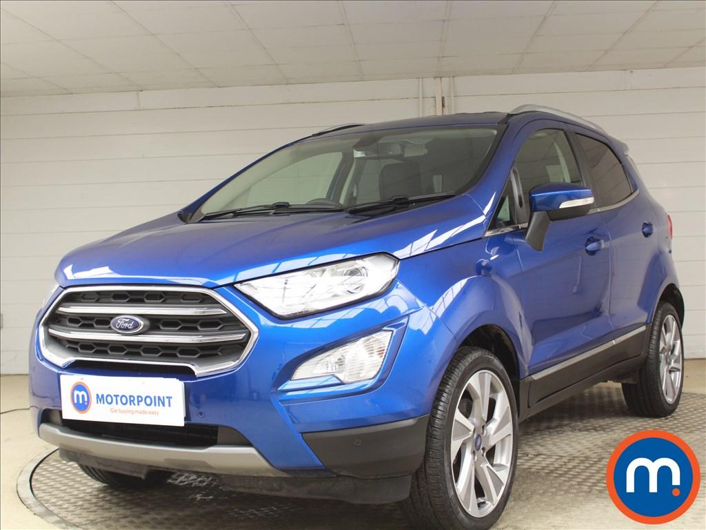 Ford Ecosport Titanium - Stock Number 1078571 Passenger side front corner