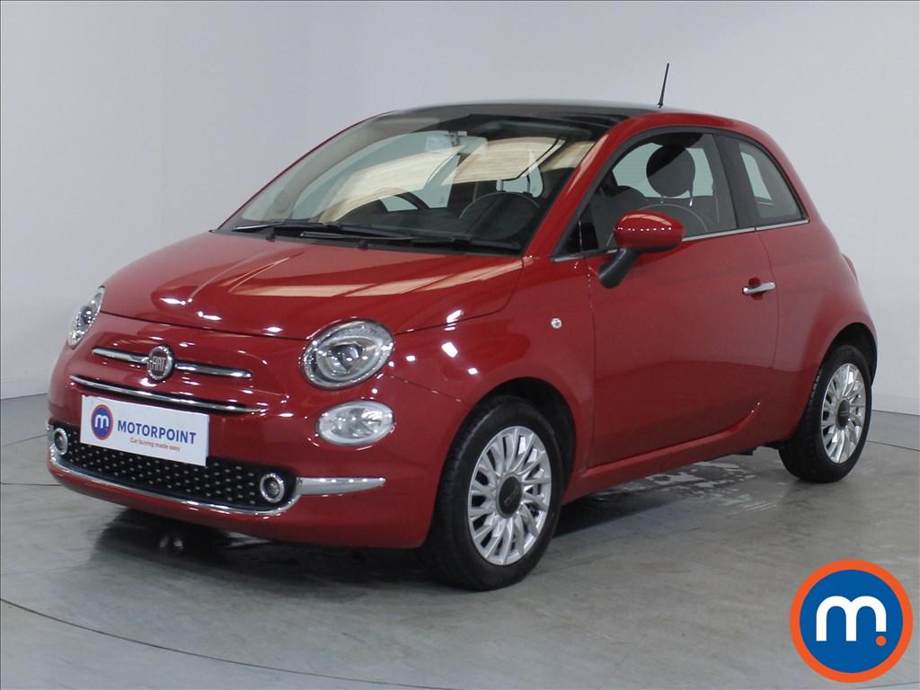 Fiat 500 Lounge - Stock Number 1082910 Passenger side front corner