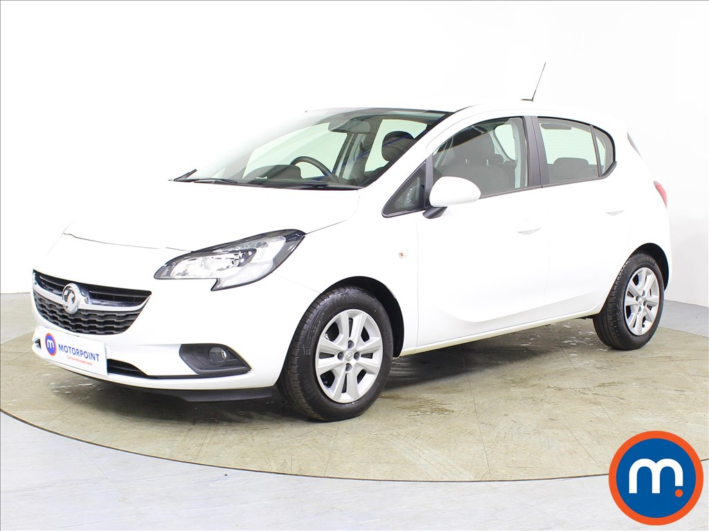 Vauxhall Corsa Design - Stock Number 1083637 Passenger side front corner