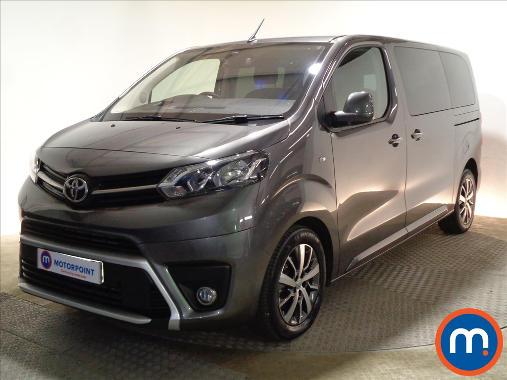 Toyota Proace Verso Family - Stock Number 1081958 Passenger side front corner