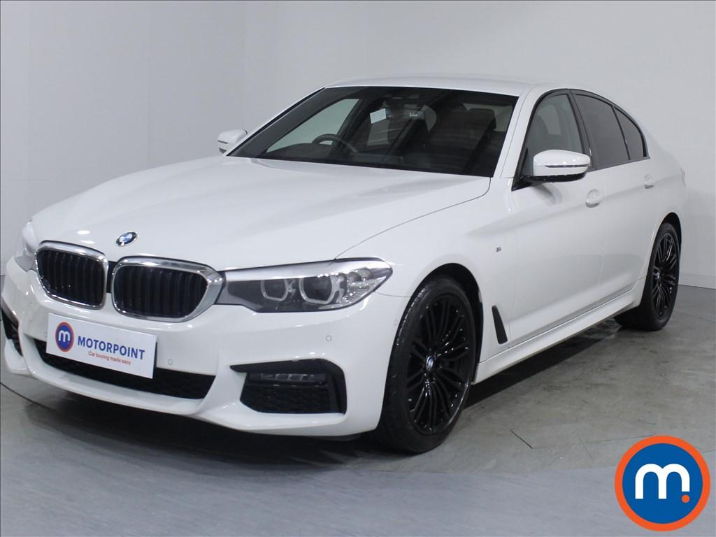 BMW 5 Series M Sport - Stock Number 1081838 Passenger side front corner
