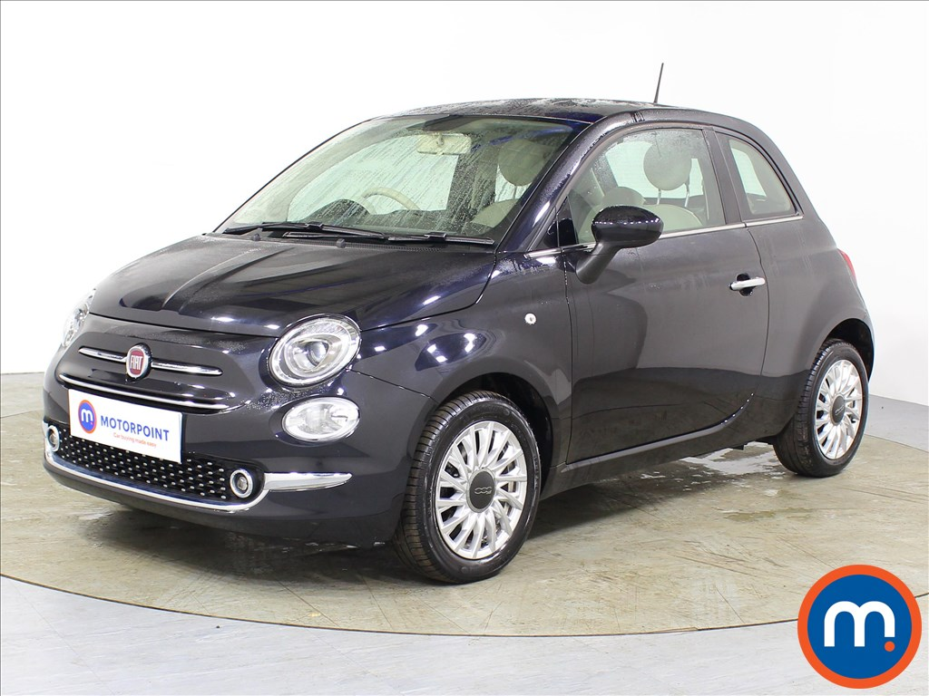 Fiat 500 Lounge - Stock Number 1082949 Passenger side front corner