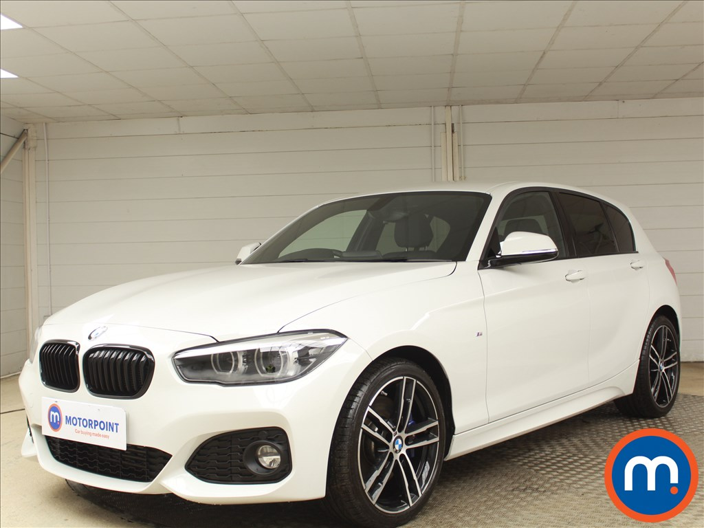 BMW 1 Series M Sport Shadow Edition - Stock Number 1081321 Passenger side front corner