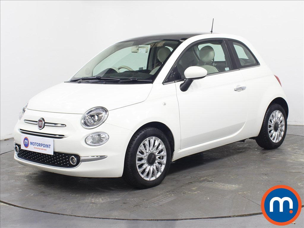 Fiat 500 Lounge - Stock Number 1082974 Passenger side front corner