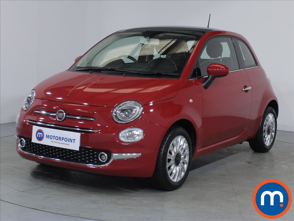 Fiat 500 Lounge - Stock Number 1082886 Passenger side front corner