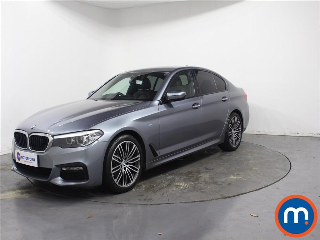 BMW 5 Series M Sport - Stock Number 1084263 Passenger side front corner