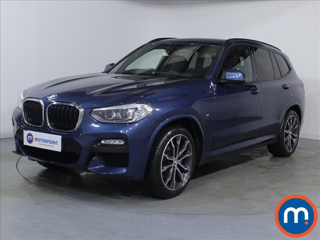 BMW X3 M Sport - Stock Number 1084367 Passenger side front corner