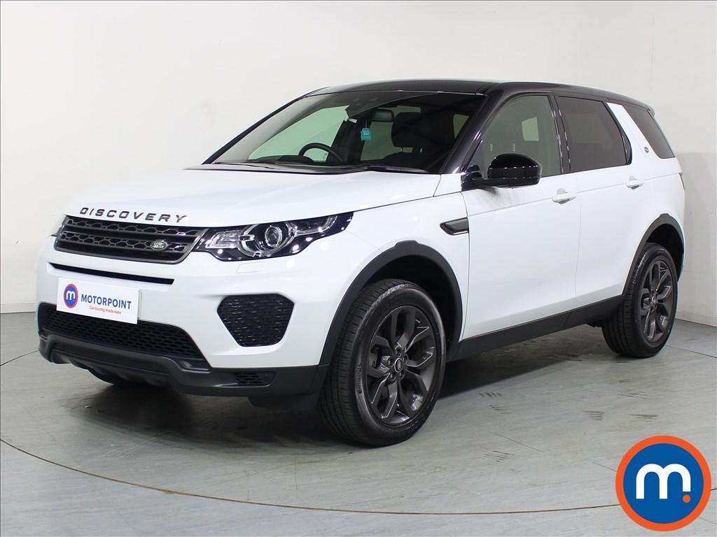 Land Rover Discovery Sport Landmark - Stock Number 1084452 Passenger side front corner