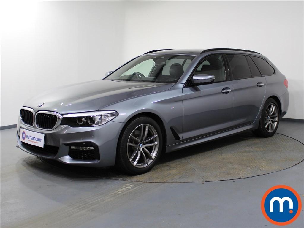 BMW 5 Series M Sport - Stock Number 1082033 Passenger side front corner