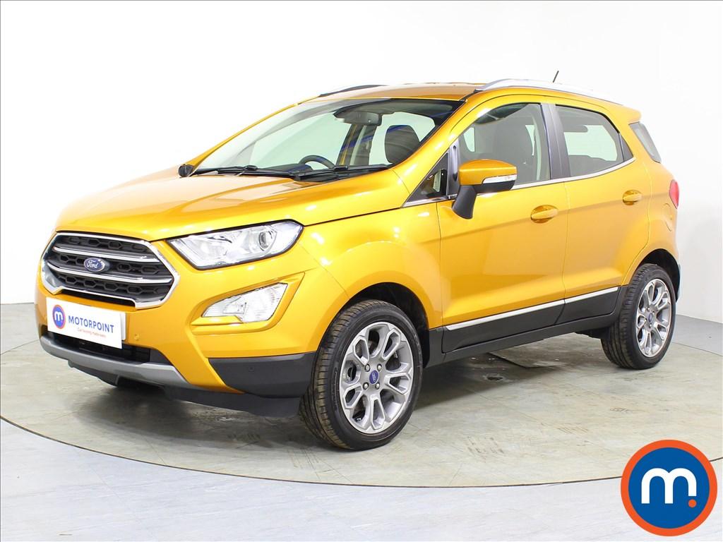 Ford Ecosport Titanium - Stock Number 1083334 Passenger side front corner