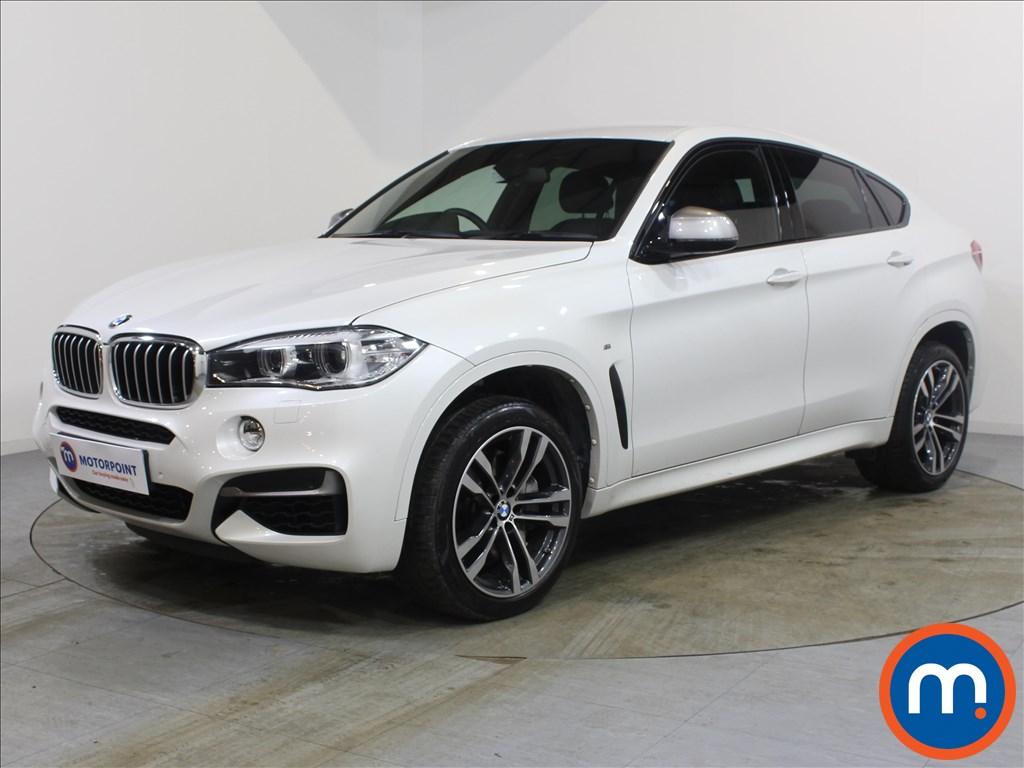 BMW X6 xDrive M50d 5dr Auto - Stock Number 1083467 Passenger side front corner