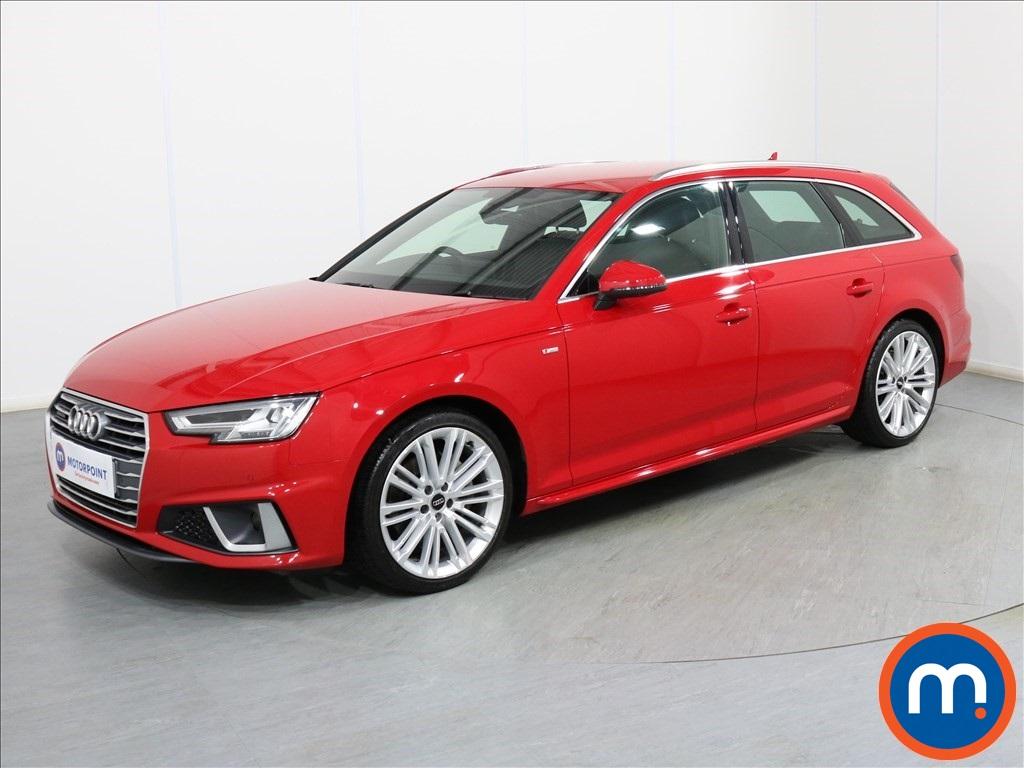 Audi A4 S Line - Stock Number 1086178 Passenger side front corner