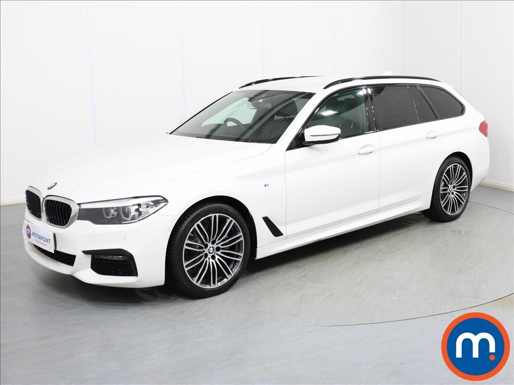BMW 5 Series M Sport - Stock Number 1086262 Passenger side front corner